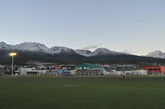 Estadio Municipal de Ushuaia tribuna