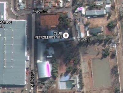 Estadio Cubierto del Club Petroleros YPF de Mendoza google map