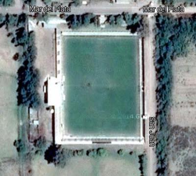 cancha de San Martín de Monte Comán google map