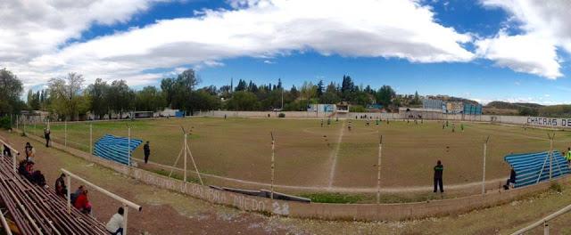 cancha de Academia Chacras de Coria panoramica