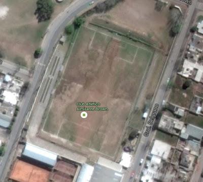 Almirante Brown Malagueño google map