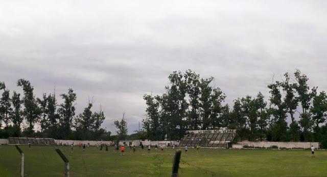 cancha de Alto Verde de Simoca tribunas