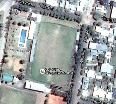 cancha de Atlético Villegas google map