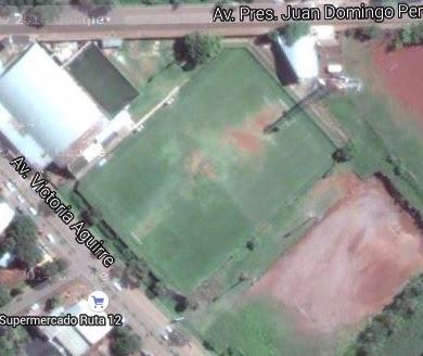 Estadio de la Liga de Fútbol de Puerto Iguazú google map