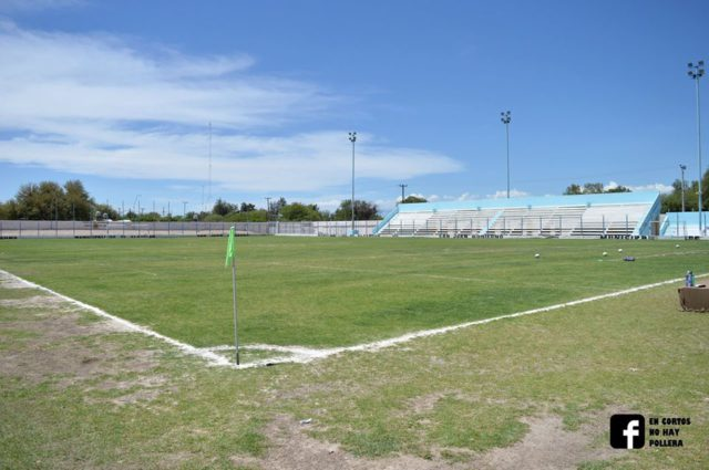 estadio municipal Albardón tribuna