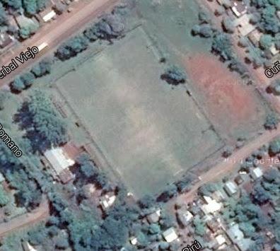 cancha de Exalumnos Escuela 185 de Oberá google map