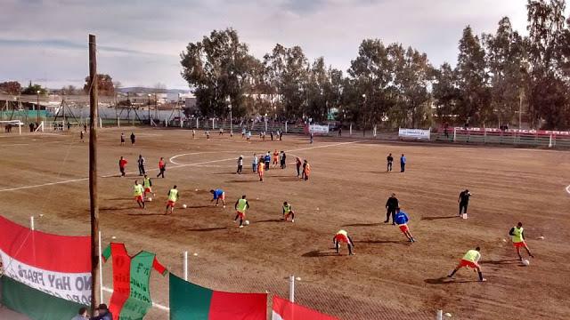 cancha de Fray Luis Beltrán tribunas