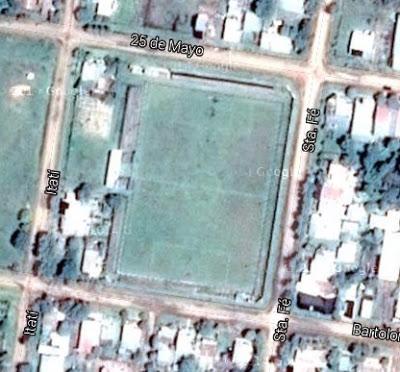 cancha de Deportivo Las Flores de Federal google map