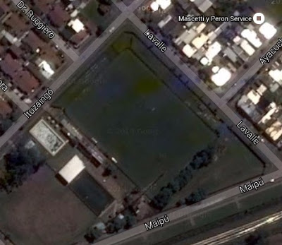 cancha de Jorge Newbery de Junín google map