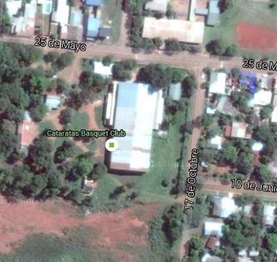 Estadio Cubierto de Puerto Iguazú google map