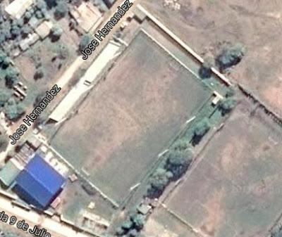 cancha de Atlético Laguna Blanca google map