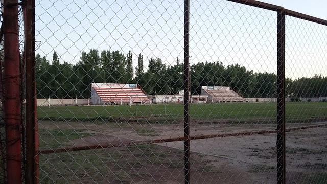 cancha de Centro Deportivo Rivadavia tribunas