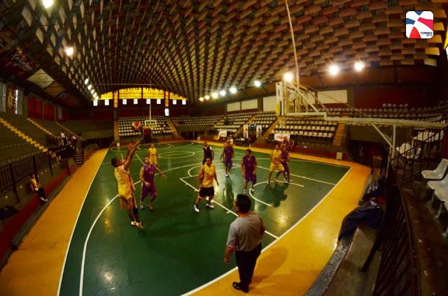 Estadio Cubierto del Colegio Corazón de María panoramica2