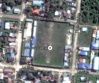 cancha de Libertad de Clorinda google map