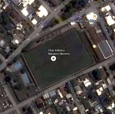Mariano Moreno Junín google map