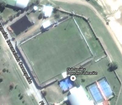 cancha de Social Federación google map