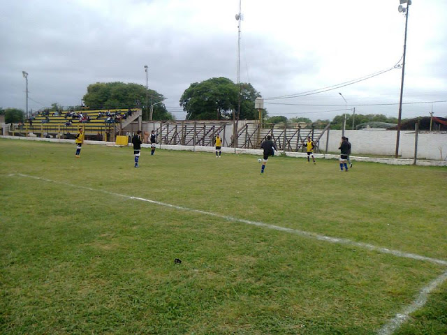 cancha de Sportivo Pampa de Chaco tribunas2