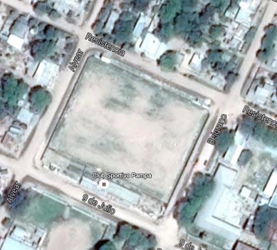 cancha de Sportivo Pampa de Chaco google map
