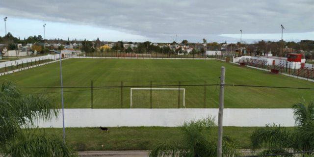 cancha Atlético María Grande