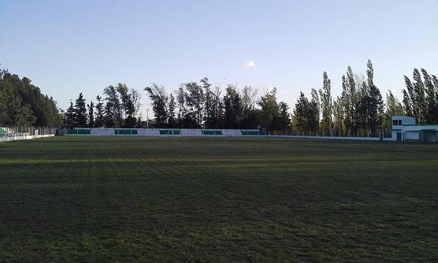 cancha Atlético Río Colorado tribuna