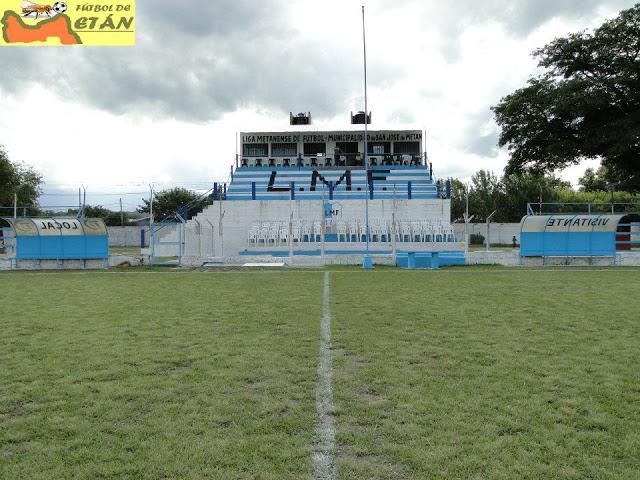 Estadio de la Liga Metanense de Fútbol platea