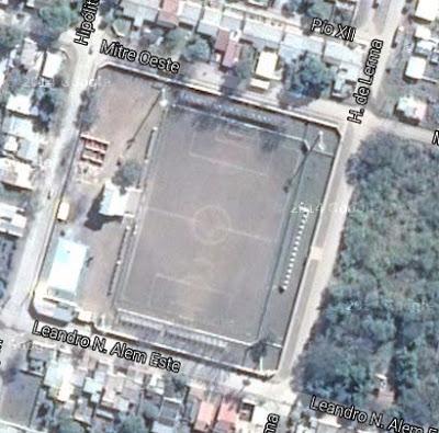 Estadio de la Liga Metanense de Fútbol google map
