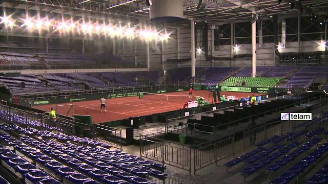 Estadio Tecnopolis tenis