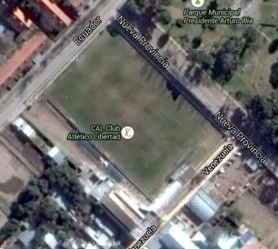 Libertad Villa Rosas google map