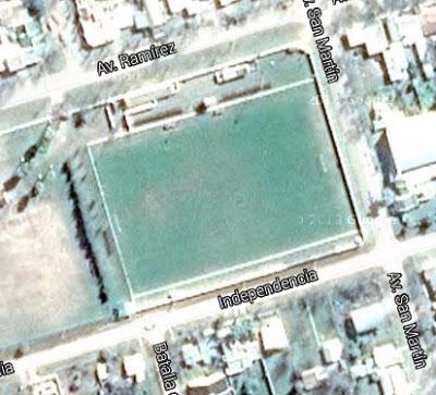 cancha de Atlético María Grande google map