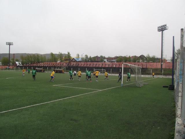 Estadio Municipal Río Turbio tribunas
