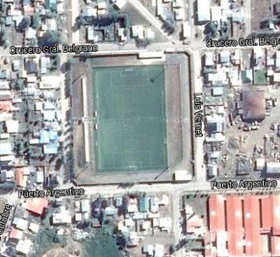 Estadio Municipal de Río Turbio google map