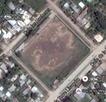 cancha de Atlético Regional google map