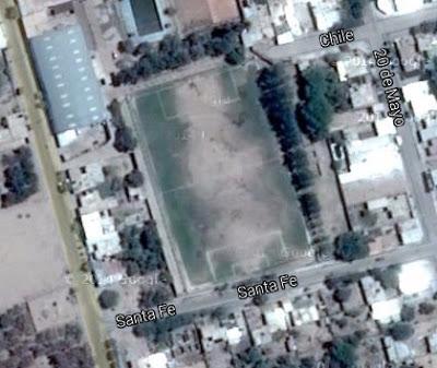 cancha de Chacarita de Aimogasta google map