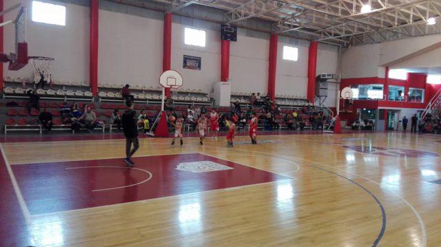 Estadio basquet Huracán de Trelew