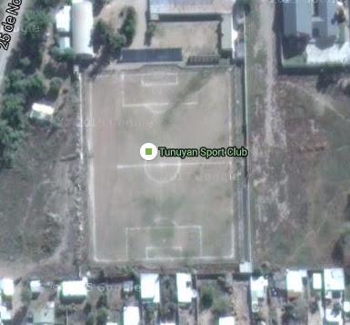 cancha de Tunuyán Sport Club google map