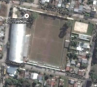 cancha de Villa Mitre de Tafí Viejo google map