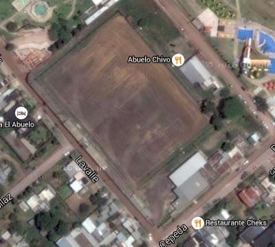 cancha de Ñapindá de Colón google map