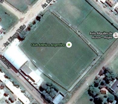 cancha de Argentino de Rojas google map