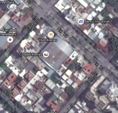 Estadio Cubierto de Atenas de La Plata google map