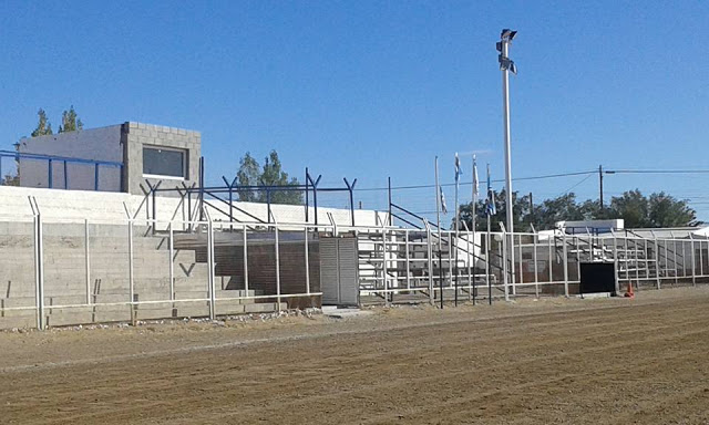 cancha de Deportivo Las Heras tribunas