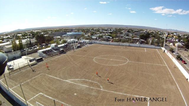 cancha de Deportivo Las Heras vista aerea