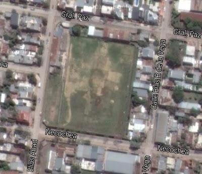 cancha de Ferroviario Corrientes google map