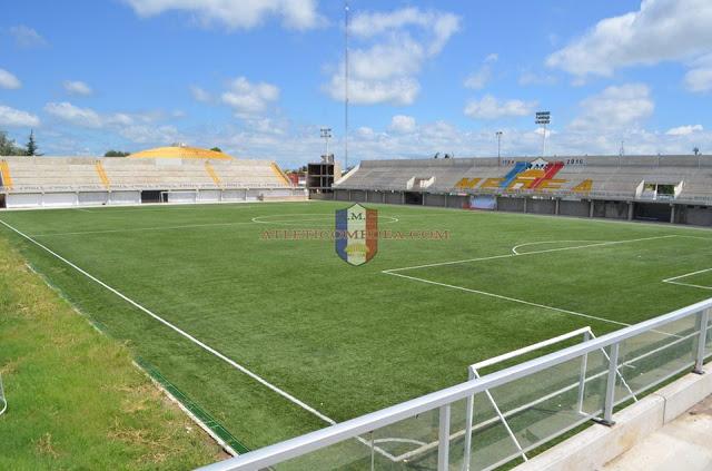cancha de Atlético MEDEA tribunas
