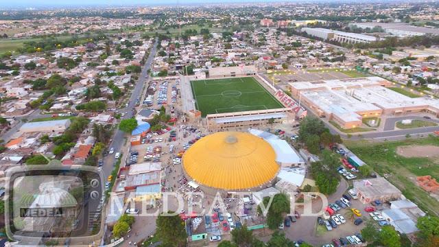 cancha de Atlético MEDEA vista aerea