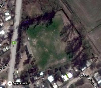 cancha de Villa Unión de La Banda google map