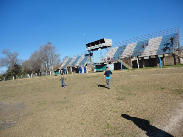 cancha de Atlético Chabás tribunas