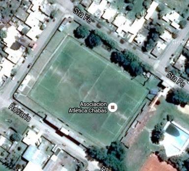 cancha de Atlético Chabás google map