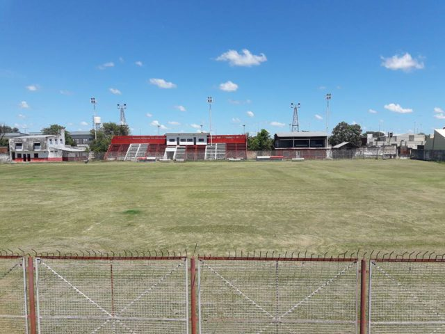 estadio Chacra 8 Formosa tribuna