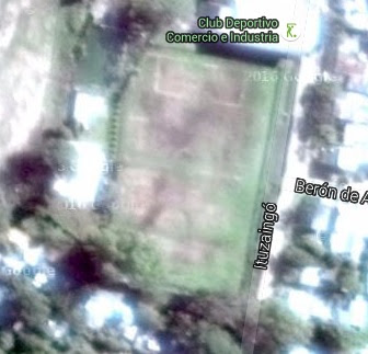 cancha de Sportivo Comercio e Industria google map