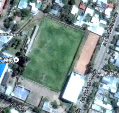 Dep Argentino San Rafael google map